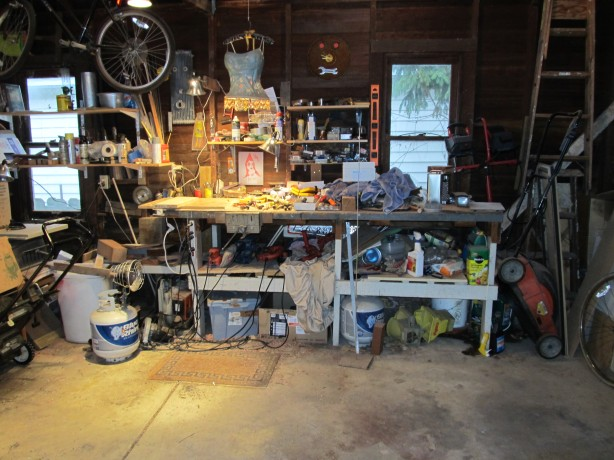 metal shop work bench plans