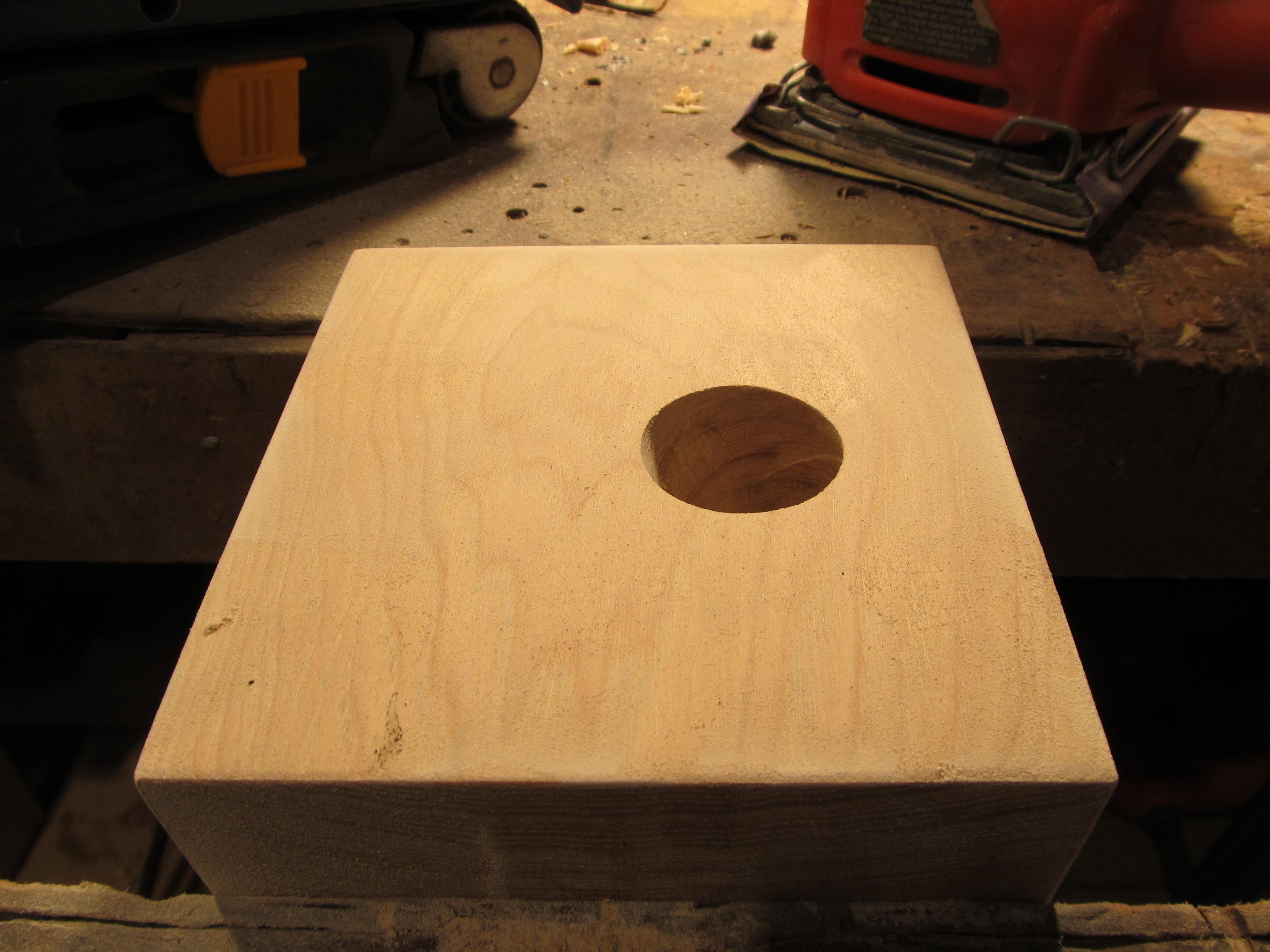 M: Secret Lock Box Wood Brain