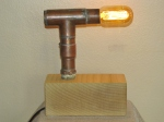 copper pipe lamp 013