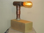 copper pipe lamp 014