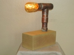 copper pipe lamp 016